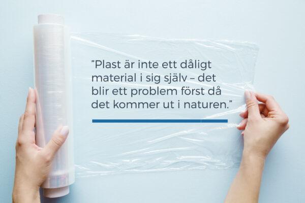 Kända Plasten har också klara fördelar för miljön | Raniplast TG-92