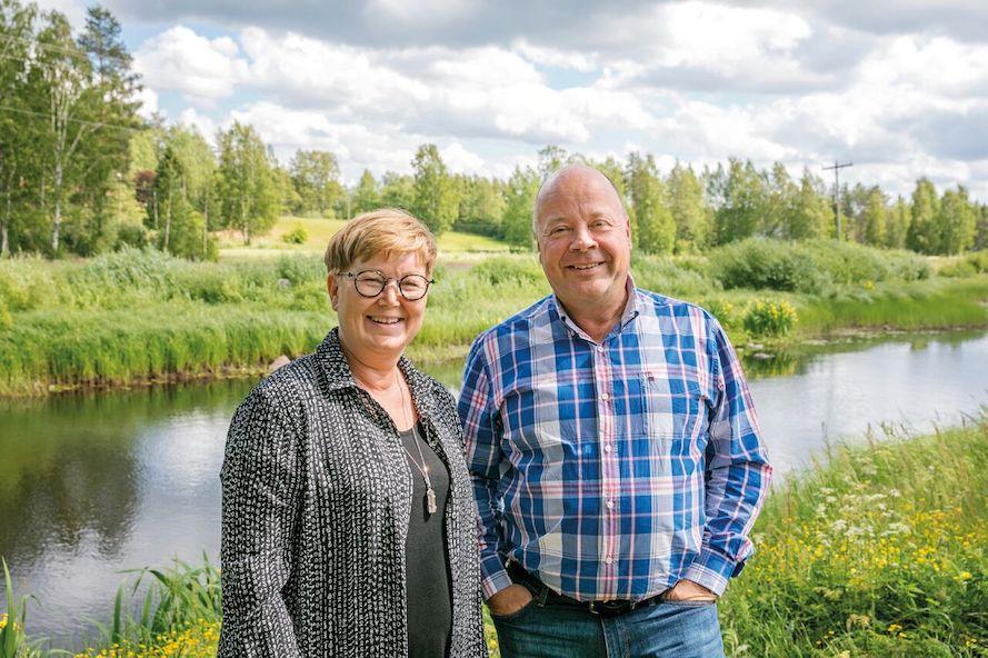 Ulrika och Mikael Ahlbäck
