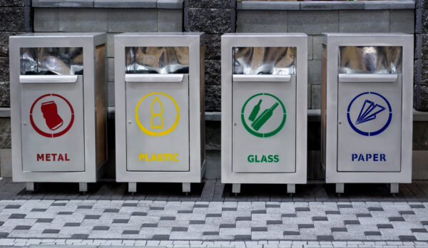 Canva – Recucling urban trash containers separating garbage_ plastic, paper,